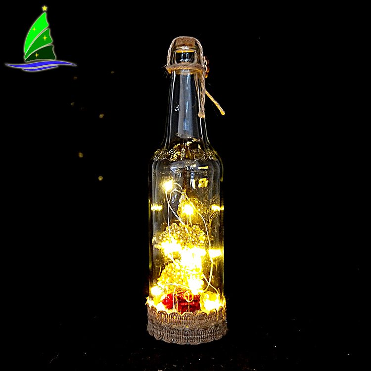 LED Christmas Hanging String Bottle