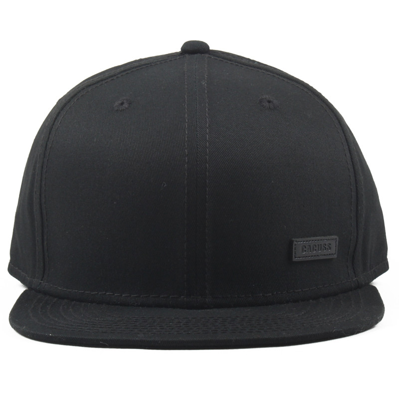 5 Panel Snapback Cap with Ruber Patch
