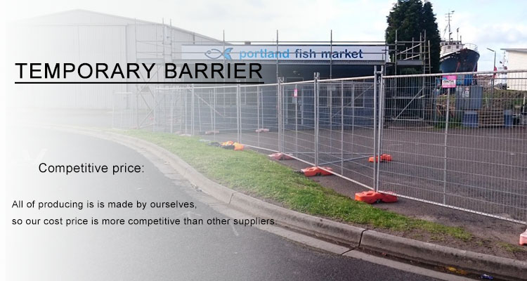 competitive temporary fencing for yard and construction