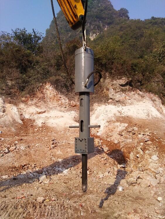 Excavator Hydraulic Rock Splitter for Quarry