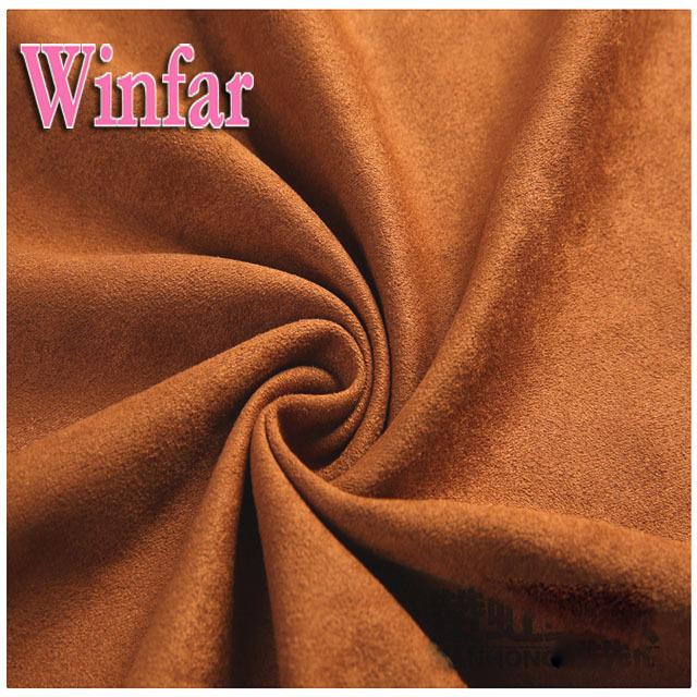 Microfiber Knit Suede Fabric