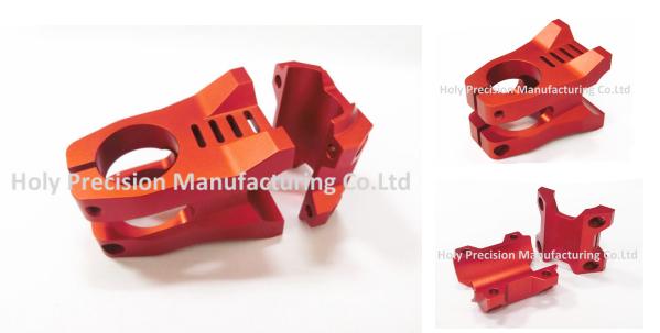 Camera Use CNC Spare Parts Black Anozied CNC Aluminum Parts