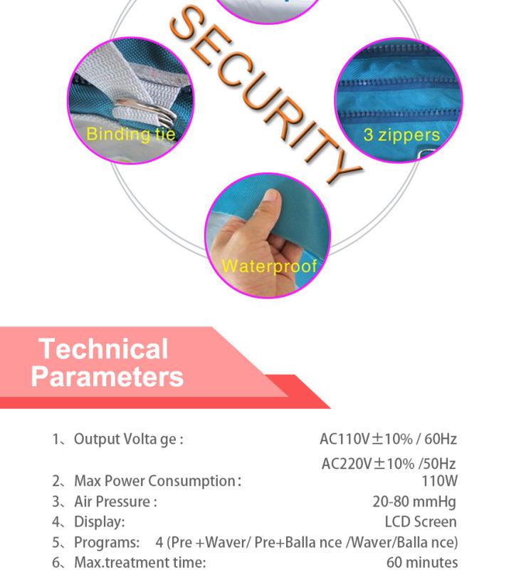 Air Pressure Machine Pressotherapy/Pressotherapy Machine