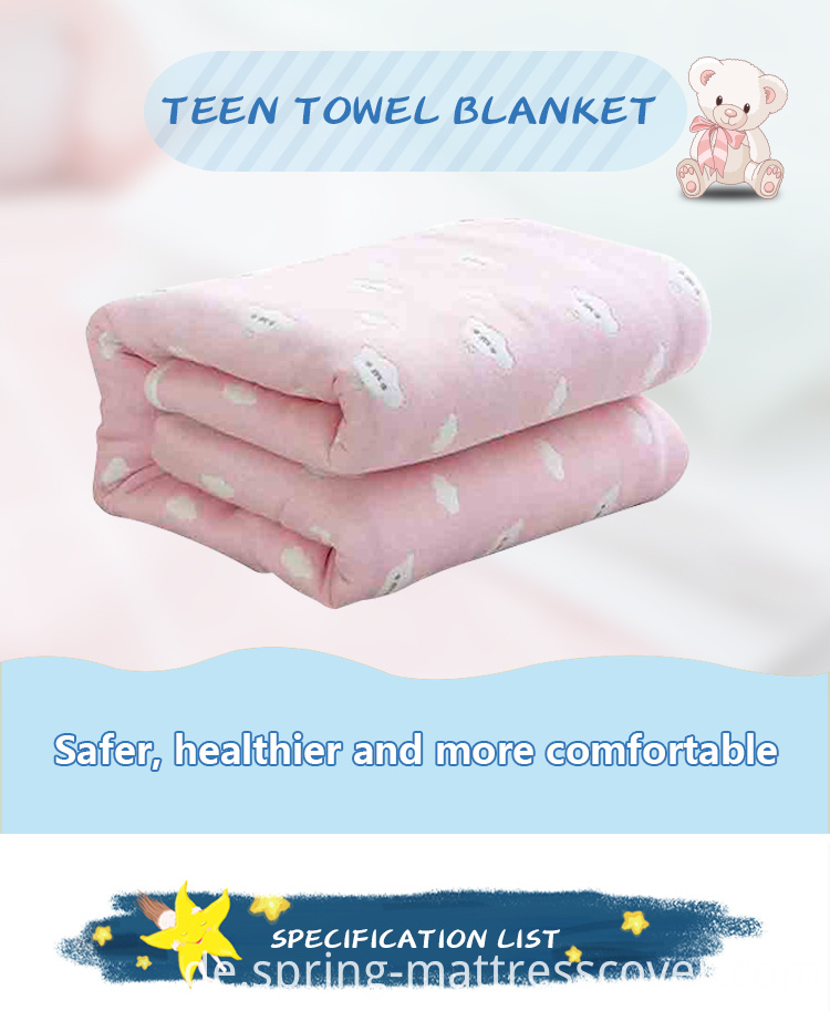 Multilayer Teen Towel Blanket