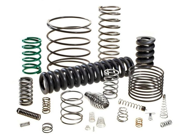 0.10-120 Inches Free Length Mn65 Carbon Steel Compression Spring