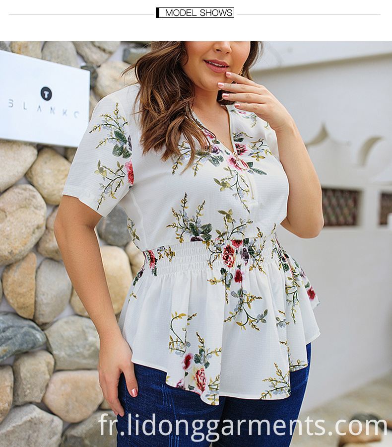 Plus Size Blouses For Women