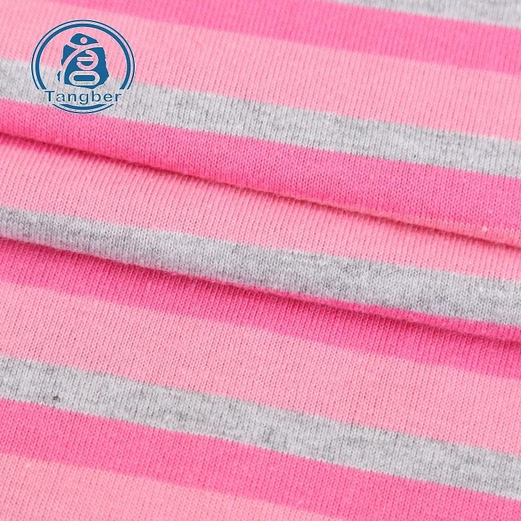 100% Cotton Stripe Fabric