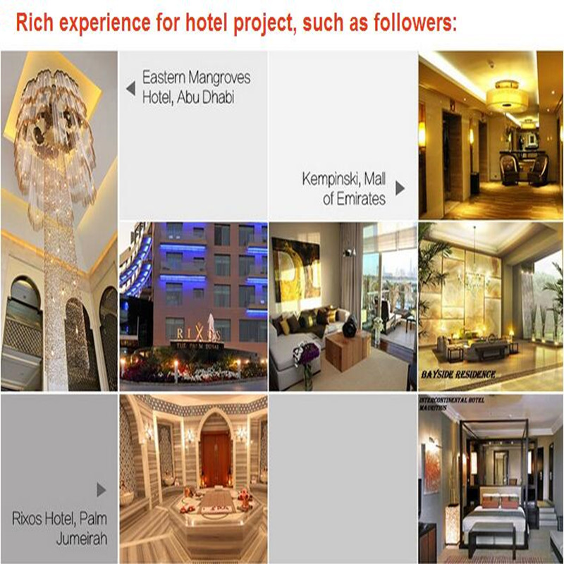 2016 Fashion and Modern Hotel Lobby K9 Luxury Crystal Chandelier