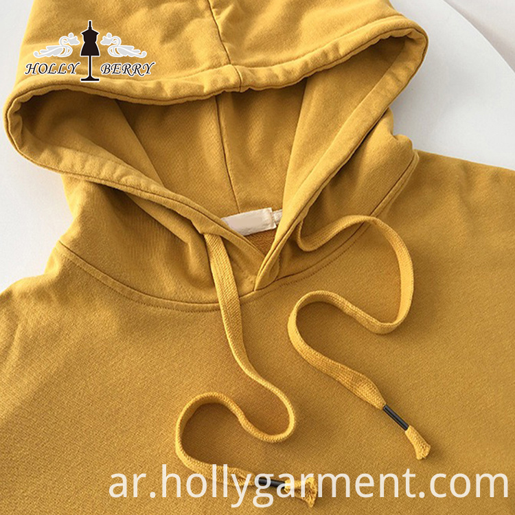 100% Cotton Custom Women Hooded