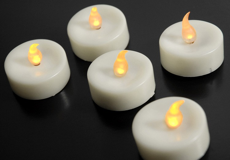 Battery Operated Flickering Flame Candles
