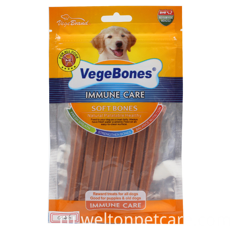 Immune care soft dog dental treats