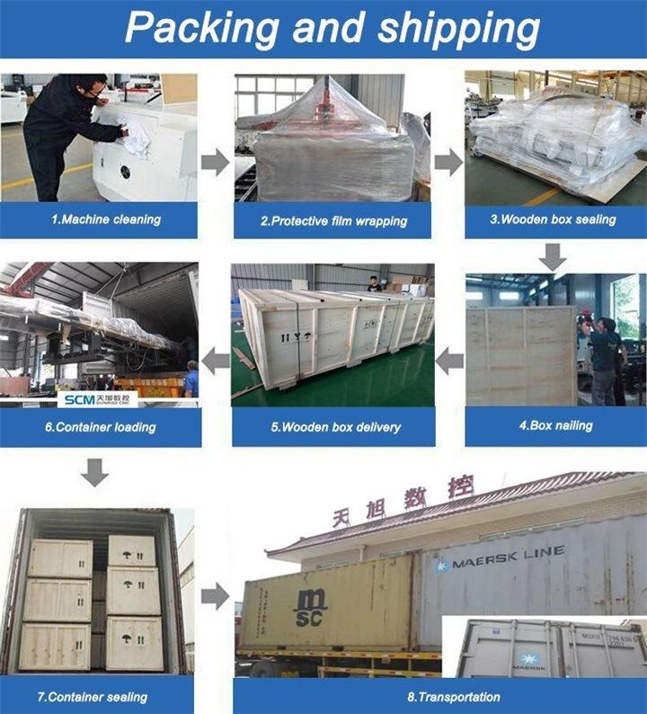 Steinbearbeitende CNC-Holz-Maschinen-Holzbearbeitungsmaschinen von China Multi-Funktionen CNC-Fräser