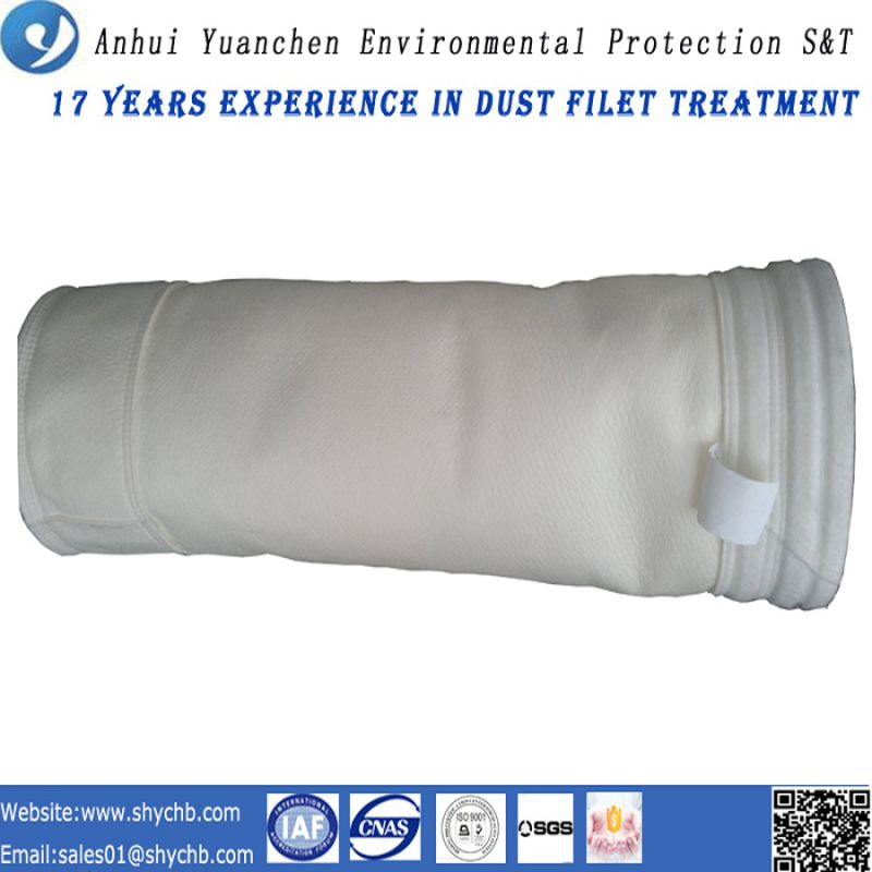 Nonwoven Acrylic Dust Collector Filter Bag for Hydroelectric Power Plant