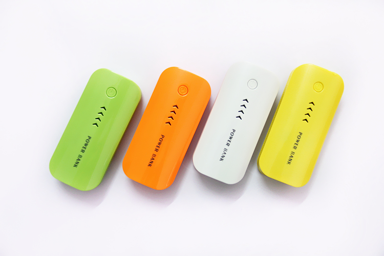 Power Bank 5600mAh Portable Powerbank 18650 Mobile Charger External Battery Charger
