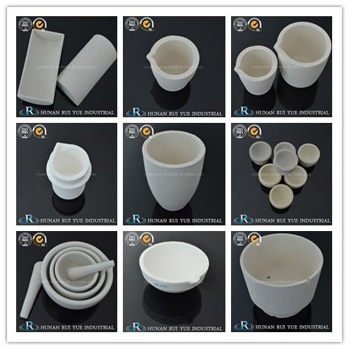 High Quality Fire Assaying Crucibles for Mining Industry