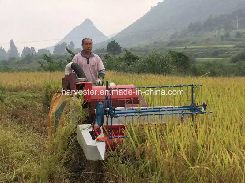 Mini Agricultural Machine for Rice Harvesting