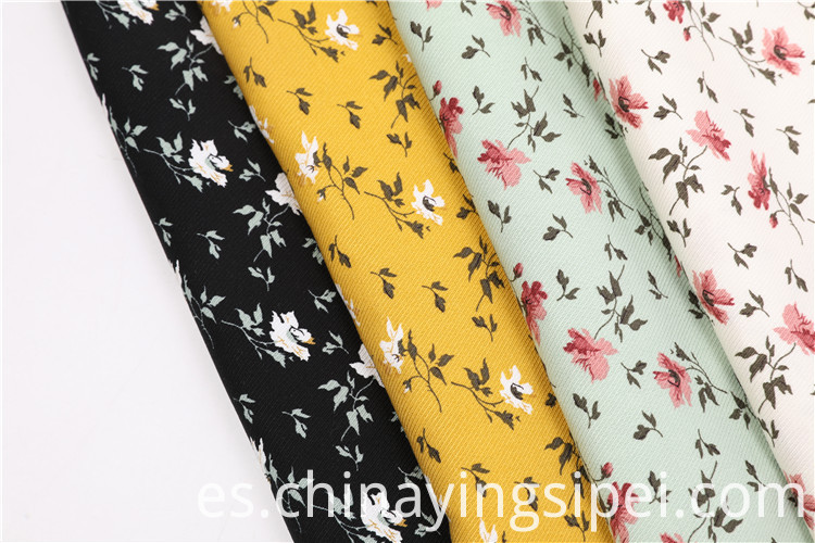 In stock twill printing fabrics rayon print fabric