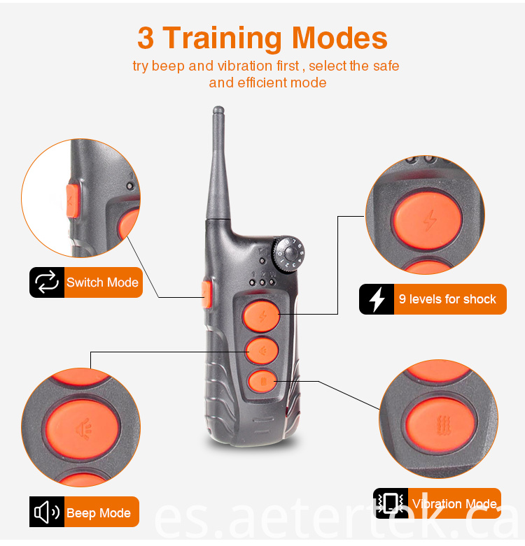 AT-918C Remote Dog Training Collar