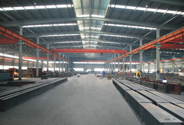 Low Cost Prefab Warehouse Construction