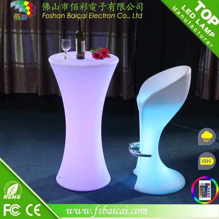 Bar Cocktail Table and Chair for Nightclub