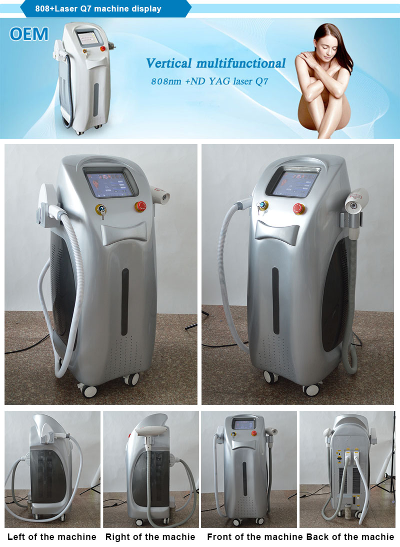 2 Big Tec Condenser 808nm Diode Laser for Permanent Hair Removal