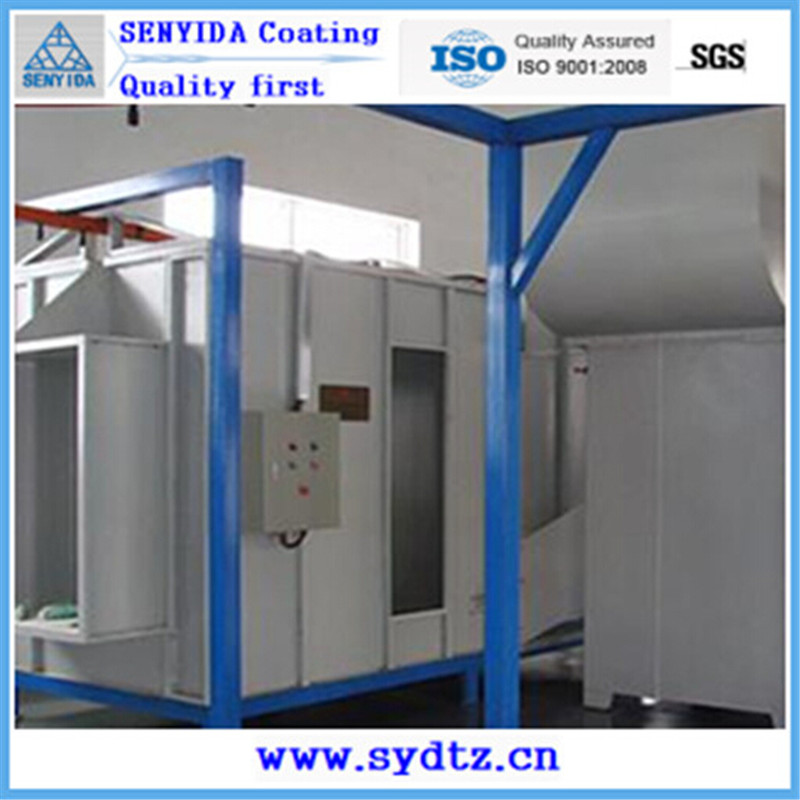 New Powder Coating Machine Line of Painting Room