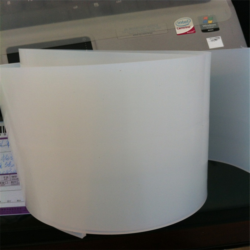 Transparent White Silicone Rubber Strip