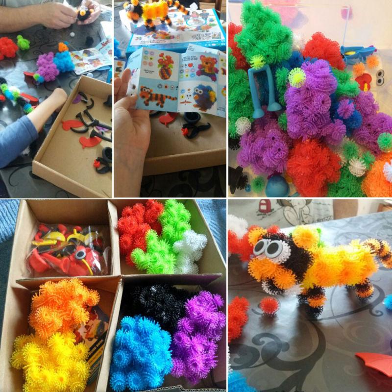 200+ Megapack DIY Puzzle Educational Xmas Festival Kids Birthday Gift Thorn Ball Toy