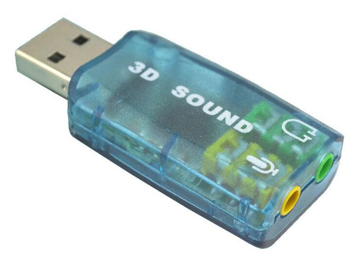 USB 5.1 Soud Card 3D