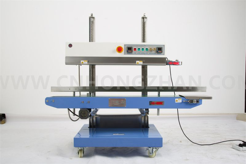 CBS1100V Continuous Sealing Machine for Big Stand Bag