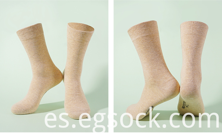 Business 98% Cotton Basic Style Socks