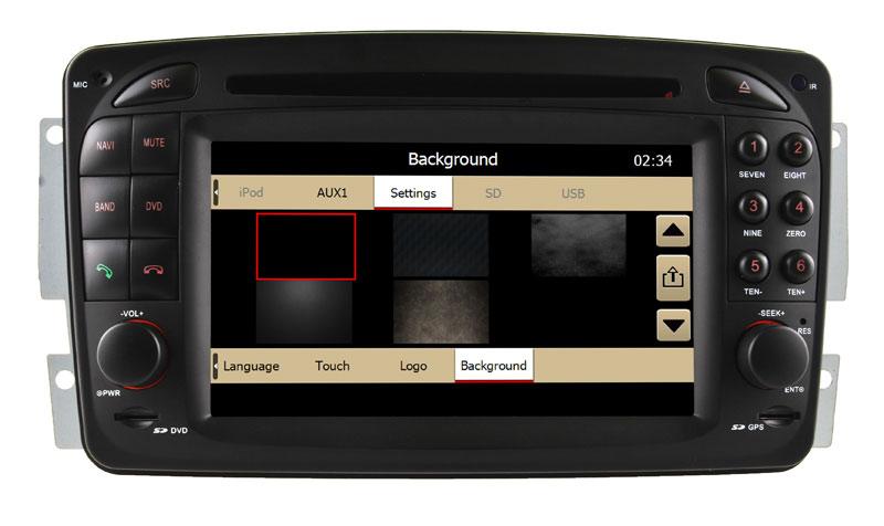 Car DVD Player for Mercedes-Benz Vaneo (2006 Onwards) GPS Navigation