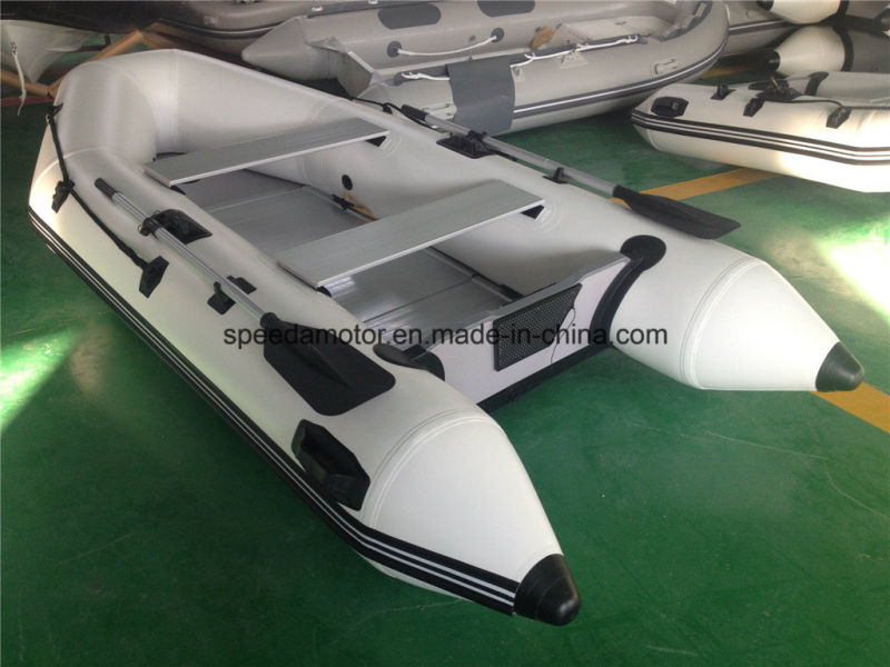 Ce PVC Hull Material Inflatable Fishing Boat