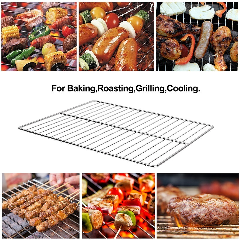 304 Stainless Steel Barbecue BBQ Grill Grates Grid Wire Mesh