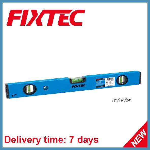 Fixtec Construction Hand Tool 12'' Aluminium Level Spirit Level