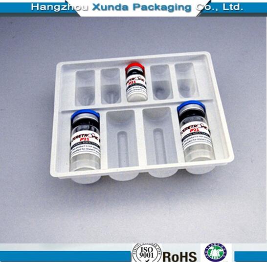 Plastic Vial Packaging Tray Blister Vial Tray