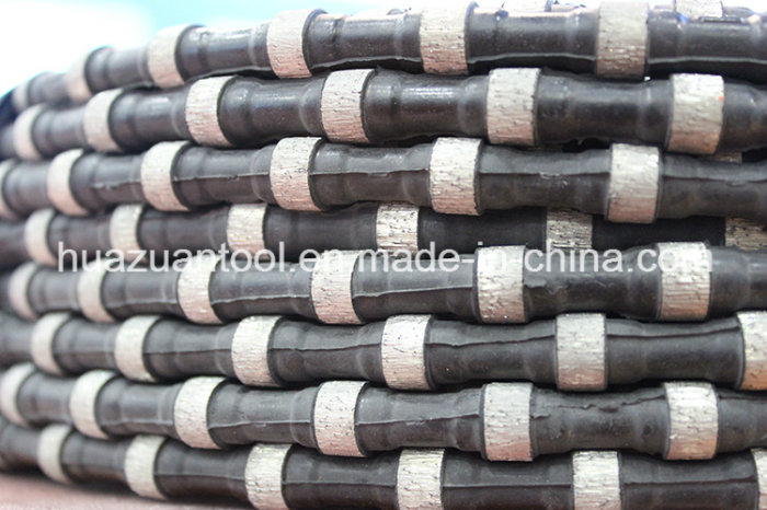 New Black Rubber Diamond Wire for Quarry