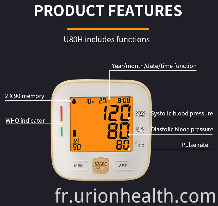 fully automatic blood pressure monitor