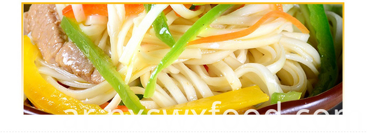 Use High Quality Wheat Flour Noodles