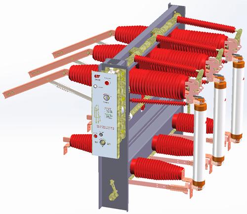 Factory Sale Sealing Type Vacuum Load Break Switch-Fzrn35GF-40.5D