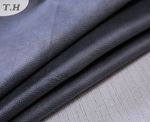 Super Soft and Sealing Glue Suede Leather for Sofa Fabric