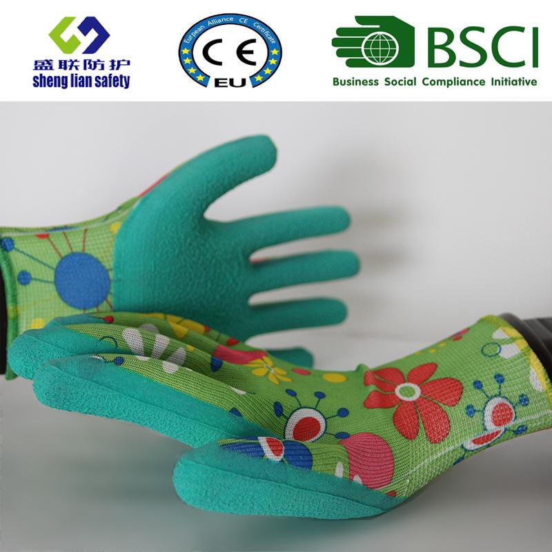 Latex Foam Coated Garden Safety Work Gloves