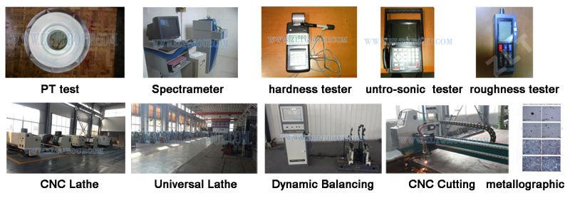Titanium Pump Impeller 6X8-13 for ANSI Pump Parts