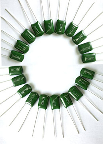 Hot Sel Topmay Green Polyester Film Capacitor Tmcf01 Cl11