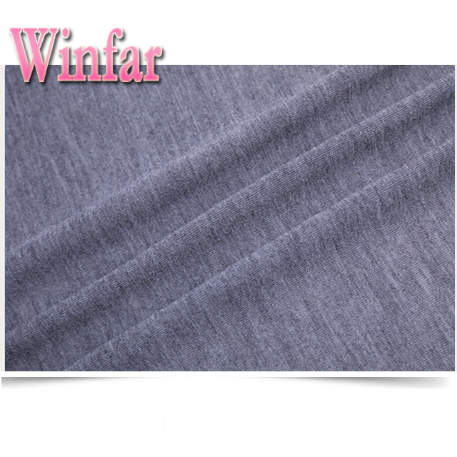 High Quality Polyester Melange Fabric