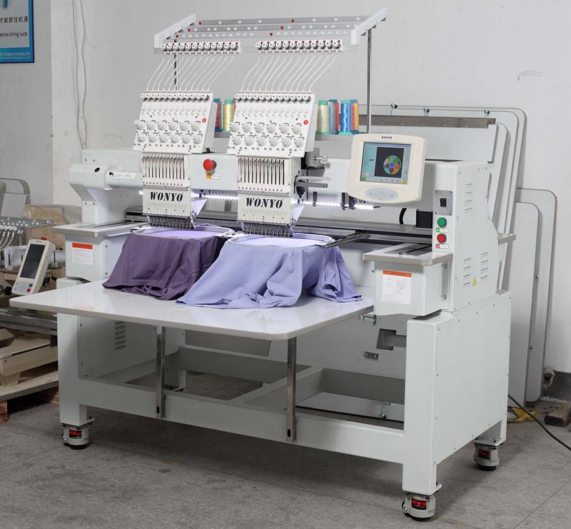 Flocking Embroidery Machine 904 Computerized Flat Embroidery Machine