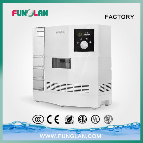 Effective Air Purifier with Patented Water Washing Air Technology