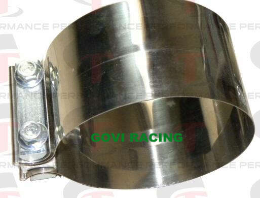 Torctite Stainless Steel Lap Joint Band Exhaust Pipe Clamp