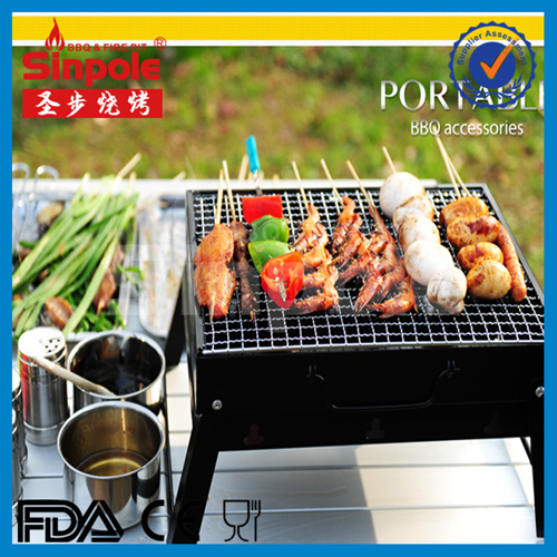 2016 Hot Sell Portable BBQ Charcoal BBQ Grill with Cooler Bag (SP-CGT04)