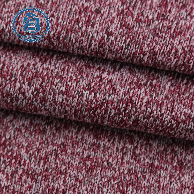brushed hacci knit fabric